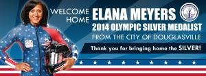 Elana Meyers Banner