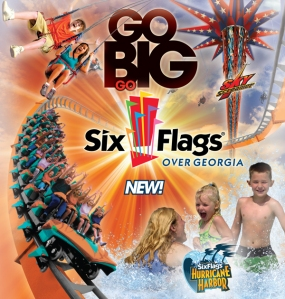 Six Flags Poster 2014