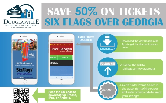 Six Flags Promo Code App