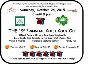 chili cook off flyer 2015