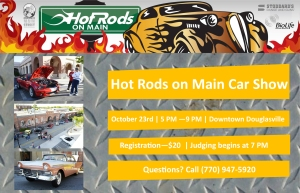 Hot Rods on Main Car Show