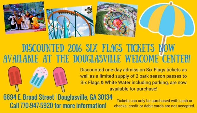 Discounted Six Flags Tickets
