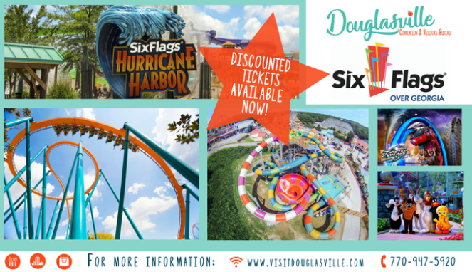 2018 Six Flags Tickets available now!